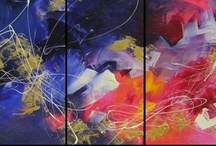 Abstract Art / A selection of my works from 2004 until now. Art available for purchase or commission.