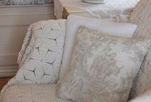 Crochet bedspreads, plaid, square....
