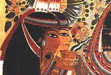 Ókori egyiptom festészete i.e.: 3000-30 / Ókori Egyiptom festészete és művészete