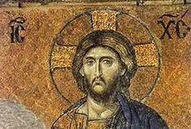 Bizánci festészet, mozaikművészet, Ikonok