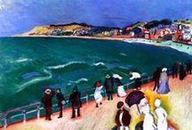 Fauves (1905-1908) / Georges Braque (1882–1963) Charles Camoin (1879–1965) Auguste Chabaud (1882–1955) Czóbel Béla (1883-1976) Robert Delaunay (1885–1941) André Derain (1880–1954) Kees van Dongen (1877–1968) Raoul Dufy (1877–1953) Émile Othon Friesz (1879–1949) Henri Le Fauconnier (1881–1946) Henri Manguin (1874–1949) Albert Marquet (1875–1947) Henri Matisse (1869–1954) Jean Puy (1876–1960) Georges Rouault (1871–1958) Louis Valtat (1869–1952) Maurice de Vlaminck (1876–1958)