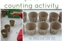 Toddler Activities / Activity ideas for toddlers and preschoolers.  Many Montessori-inspired.