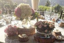 Centros de mesa para bodas / #boda #wedding #deco #mesa #banquete