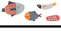 Illustrationen für´s Kinderzimmer / schöne und bunte Wandgestaltung, Ideen, Inspiration