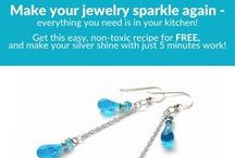 Jewelry Care & Storage / How to keep your gorgeous baubles safe, and shining like new!