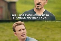 Marvel funnies / Just those Marvel things that make you chuckle.