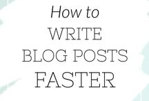 Blogging Help & Ideas / Helpful posts for bloggers.
