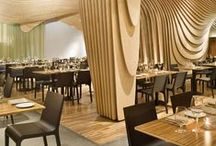 Restaurants / Restaurants are where people meet and culture is experienced. What better spaces to draw inspiration from?