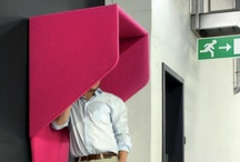 Acoustical Solutions / With the office's move to more open space, acoustics can become challenging. Companies like Buzzispace create products to mitigate the travel and disturbance of sound. Function, practicality and design are fused into modern solutions.