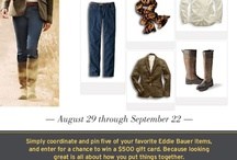 Eddie Bauer Fall Favorites