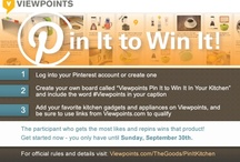 Viewpoints Pin It to Win It In Your Kitchen