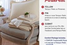 Tempur-Pedic Pin, win and get comfortable