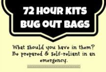 72 Hour Bug Out Bag / Whether you call it a bug out bag, 72 hour kit or survival kit, you need one in case of emergencies
