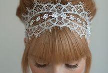 Accessoires coiffure mariée * hair style accesories