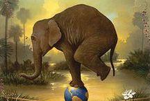 Elephants / by Bizby