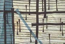50s fabric design