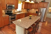 Our Kitchen Projects / by Giesken's Cabinetry & Floor Covering