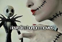 Tim Burton  / And I Love his drawings and his Movies!