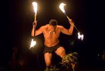 Hawaiian Entertainment / Be dazzled by a Fire Knife dancer and hula dancers at your special event here at Sugar Beach.  We offer beautiful entertainment options.