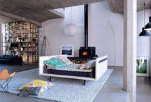 Espace nuit dans salon / Idées pour aménager un coin nuit dans un salon