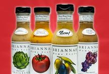 BRIANNAS Salad Dressing Groups / Our salad dressings are so versatile. We've clustered them in different groups here to assist you in your selection.