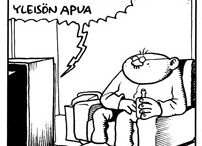 Fingerpori / Funny comic strip by Pertti Jarla