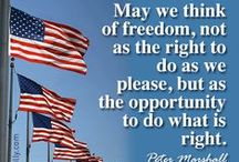 Happy 4th of July! / Land of the FREE because of the BRAVE. God bless America! #Happy4thOfJuly #July4th #4thofJulyWeekend
