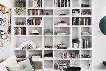 Bibliothèque / Maintenant comment je range mes livres et petits objets ! Bookshelf styling