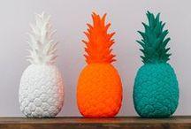 Pineapple / Pineapple et ananas