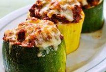 Banting Zucchini recipes / LCHF, Keto, Carb Free recipes with zucchini