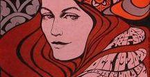 Art work Music / art deco, art nouveau, retro-futurisme, psychedelisme