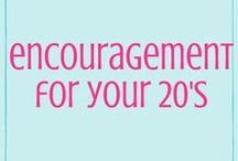 Encouragement for Your 20s / Encouraging young women to pursue Jesus in all areas of their life :)   Bloggers>> Email social@joybecausegrace.com if you'd like to join