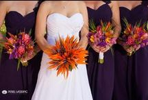 Maui Wedding Bouquets / A collection of some of the stunning bridal bouquets of our Maui weddings here at Sugar Beach Events located oceanfront Maui.