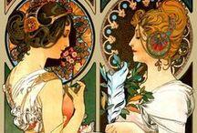 Art nouveau, modernisme & Jugendstil