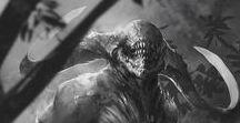 Dark fantasy / Cthulhu, Evangelion, Sauron et leurs potes !