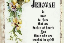 """My hope in my God Jehovah / """"Taste and see that JEHOVAH is good"""" Happy is the able-bodied man that takes refuge in him"""" Psalm 34:8 / by Melody"""