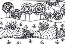 Színező / Saját színezhető rajzaim