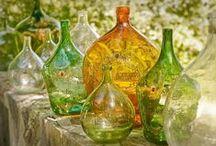 Üvegek / Régi, antik üvegek