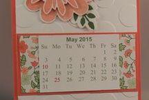 Stampin' UP! 2015 Calendars