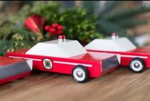 A Very Candylab Holiday / Candylab Toys make the perfect gift for anyone on your list! Our wood cars are hand painted, designed in Brooklyn and inspired by Mid Century Modern design. Available at retailers worldwide and at Candylab.com