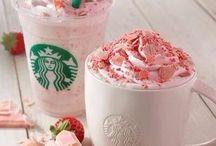 Starbucks / ( sorry never ment 2 out the cat in ) so lovely!!!! I love Starbucks so much!!!