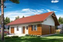 Domy w szkielecie drewnianym / Projekty wykonane w szkielecie drewnianym