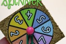Math Centers to Teach Common Core Standards / A collection of ideas for for setting up Common Core Standards  Aligned Math Centers in grades k-2. DIY manipulatives, freebies, and games are the focus.