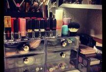 MakeUp Storage / Organize your makeup