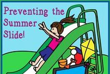 Summer School / Summer themed activities, games, resources, and centers for teaching summer school in kindergarten, grade 1, and grade 2 students. Hands on activities, and summer crafts are my favorites for fun Friday activities.