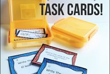 Task Cards / Task Cards, freebies, tips, management, and resources.