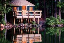 Living    Tent Life