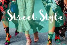 Street Style / Street Style Fashion Outfits featuring Boho Hippie Gypsy Style trends. Women's Embroidery Clothing and Apparel & more ➰ Pasaboho.com