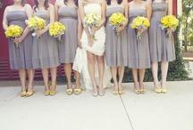 Yellow/ Grey Wedding- Daffodil/ Tulip