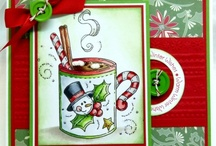 xmas cards = / by Kathy S Green